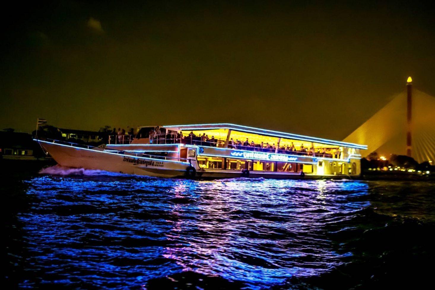 ล่องเรือไวท์ออร์คิด Seafood